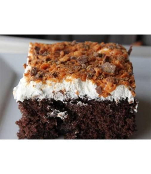 Chocolate Butterscotch Ice Cream Cake