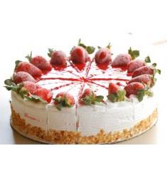 Strawberry Ice Cream Cake