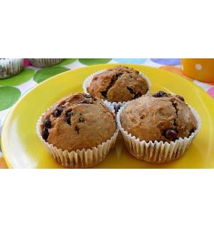 Oat Chocolate Muffins (Set of 6)